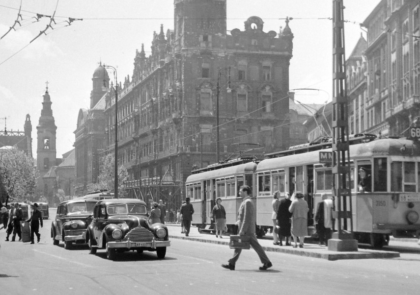 1955, Ferenciek tere (felszabadulás tér), 5. kerület