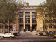 1982, Váci út, a Ganz Magyar Hajó-és Darugyár igazgatóság épülete, 13. kerület