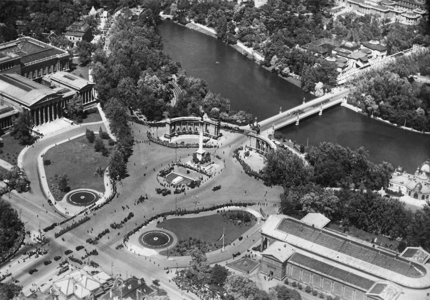 1935, Hősök tere, 14. kerület