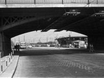 1963, Bem rakpart a Margit híd budai hídfőnél, 2. kerület