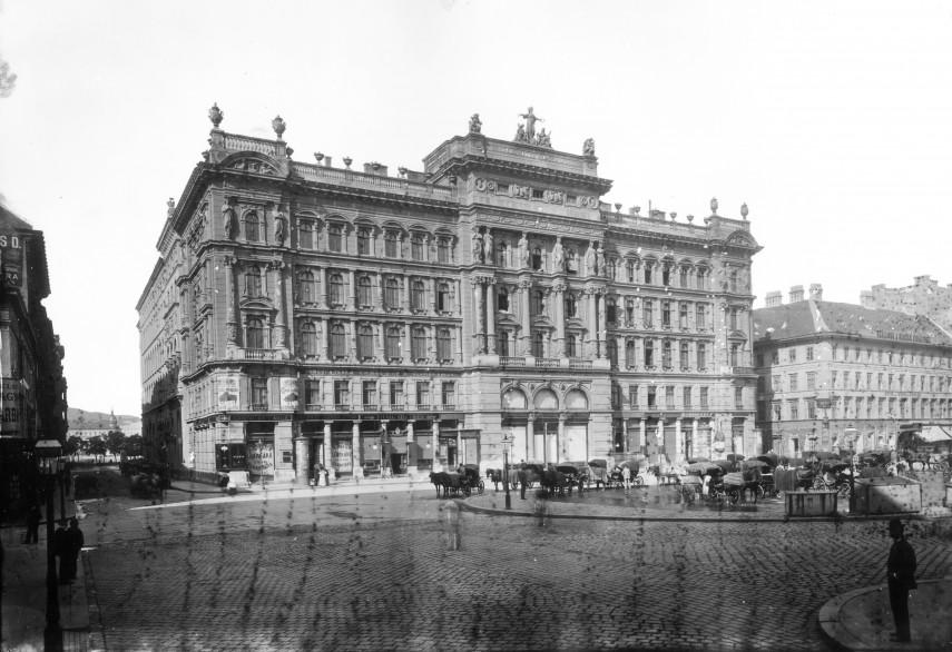 1894 táján, Gizella (Vörösmarty) tér, 5. kerület