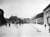 1893 táján, Dísz tér, 1. kerület