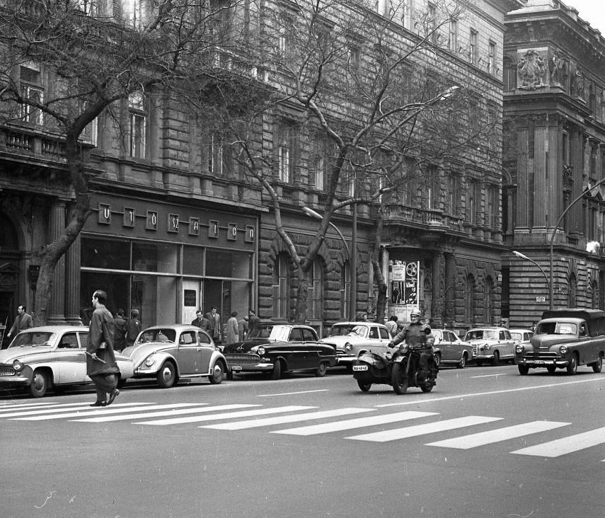 1965, Népköztársaság útja (Andrássy út), 6. kerület