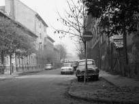 1973, Tar utca a Mohács utcától a Róbert Károly körút felé nézve, 13. kerület