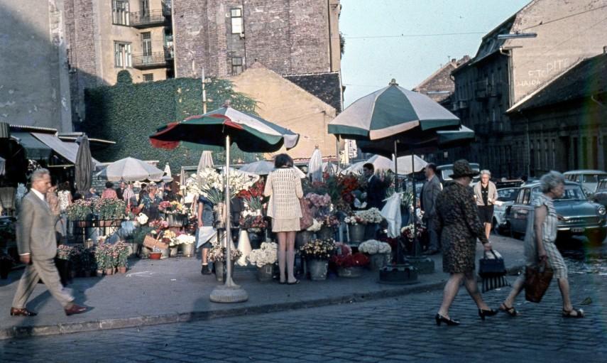 1969, a Fény utcai piac, 2. kerület