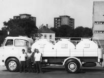 1973, Bánya utca a Halom köznél, 10. kerület