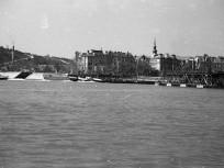 1947, a Petőfi (Böske) pontonhíd, 1. kerület