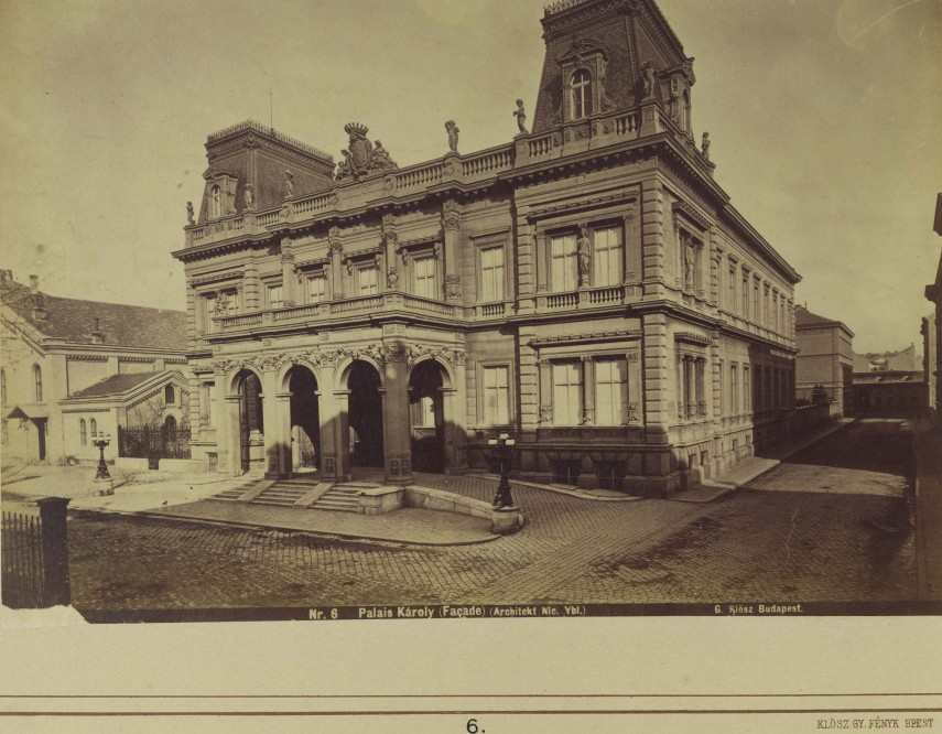 1863-1881, Pollack Mihály tér, 8. kerület