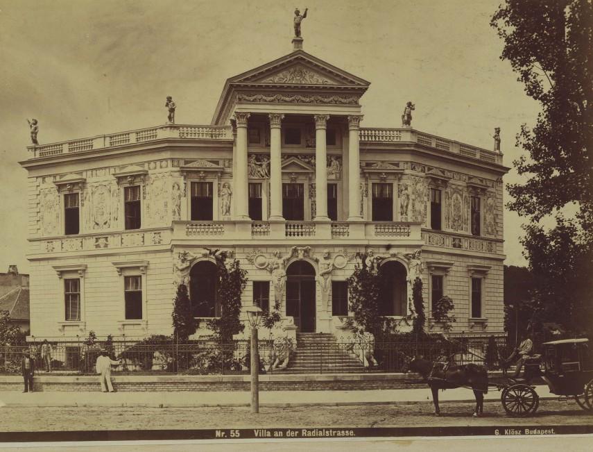 1876 táján, Sugár út (Radial Strasse), (Andrássy út), 6. kerület