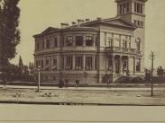1876 táján, ekkor még névtelen (1833-tól Sugár), Andrássy út, 6. kerület