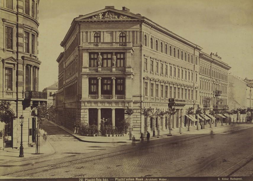 1877 körül Váci körút (Bajcsy-Zsilinszky út), 6. kerület