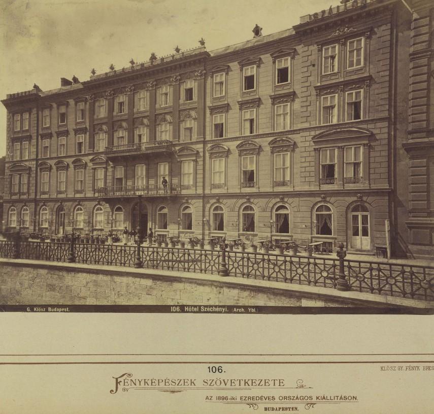 1880-as évek, Várkert rakpart, 1. kerület