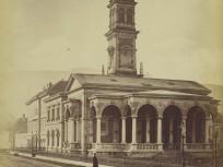 1883 táján Vízmű utca (Ybl Miklós tér), 1. kerület