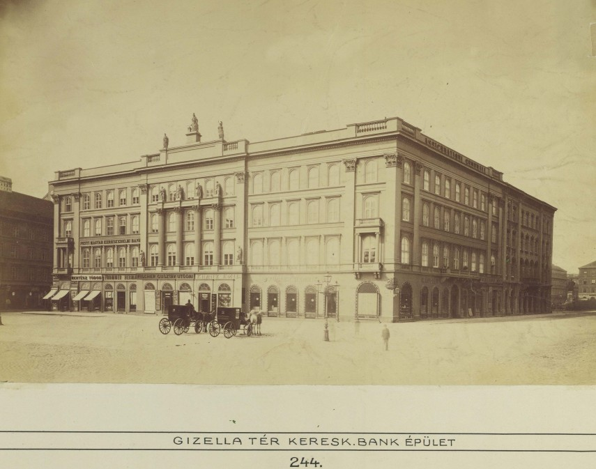1880-as évek, Gizella (Vörösmarty) tér, 4. ,(1950-től 5.) kerület
