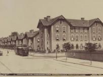 1890 után, Podmaniczky utca az Epreskert (Munkácsy Mihály) utca torkolatától nézve, 6. kerület