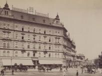 1896 táján, a mai Baross tér, 7. kerület