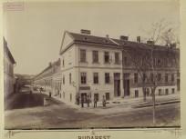 1890-es évek, Bem (Jobbágy) utca az Aréna (Dózsa György) útnál, 7. kerület