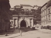 1800-as évek vége, Lánchíd (Clark Ádám) tér, 1. kerület