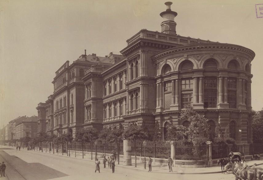 1890-es évek, Üllői út, 8. kerület