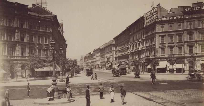 1890-es évek, Nyolcszög tér Oktogon), 6. kerület