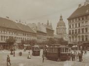 1908 táján, Deák Ferenc tér, 6. és 5. kerület