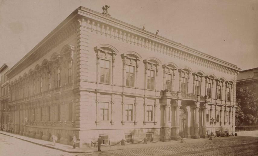 1890-es évek vége, Pollack Mihály tér, 8. kerület