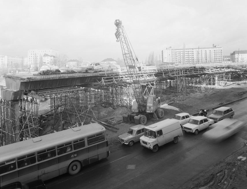1975, Budaörsi út, a BAH csomópont, 11. ,12. kerület