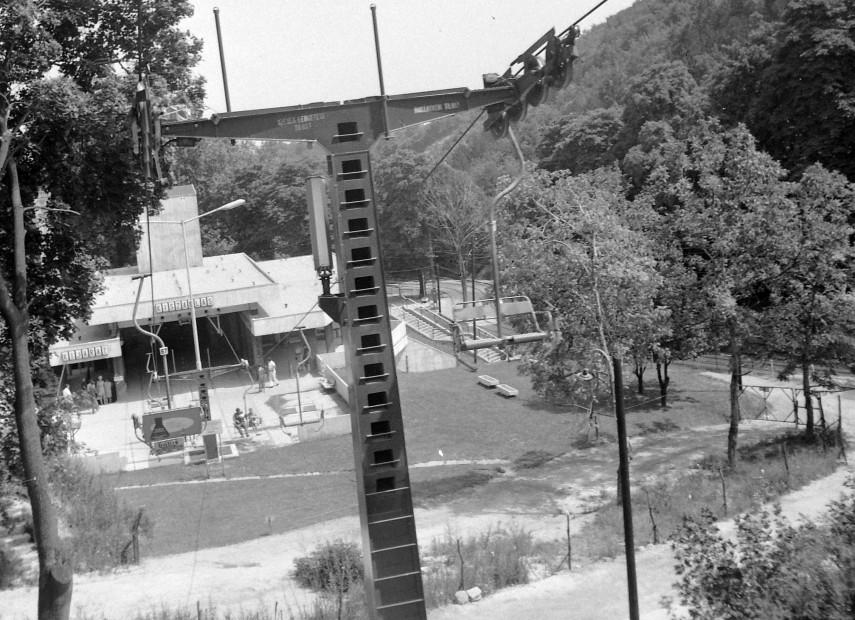 1971, Zugligeti út, a Libegő, 12. kerület