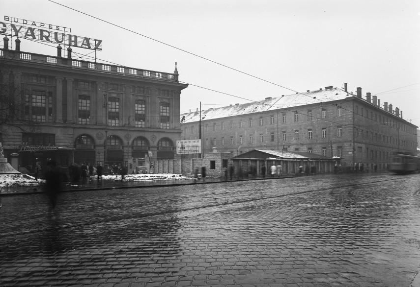 1952, Blaha Lujza tér, 8. kerület