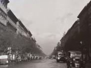 1938, Andrássy út a Vilmos császár (Bajcsy-Zsilinszky út) felől, 6. kerület