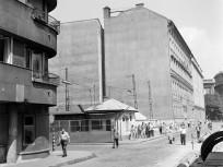 1971, Köztelek utca az Üllői út felé nézve, 9. kerület
