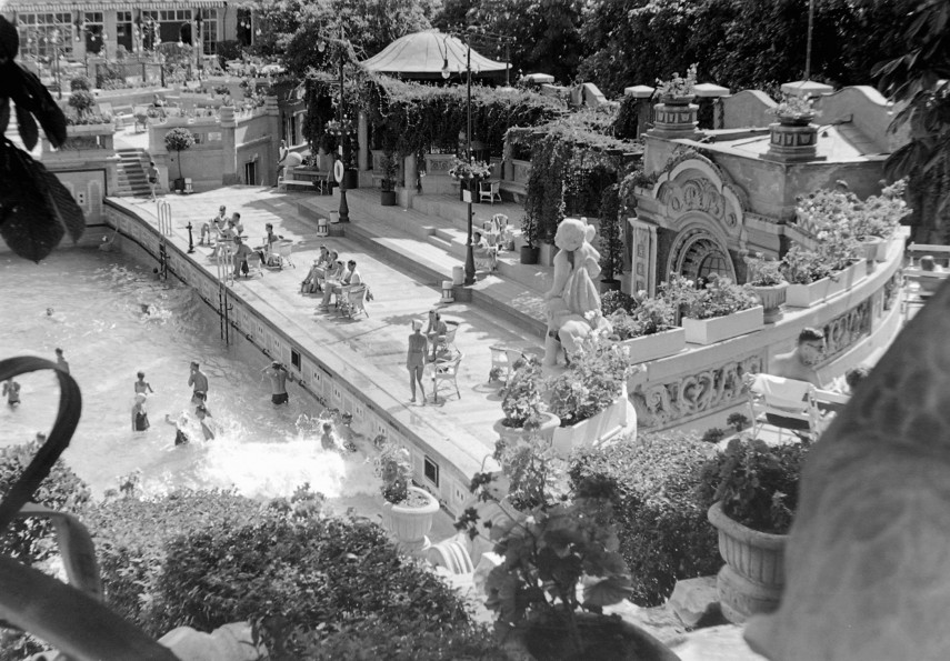 1935, Gellért tér, Gellért fürdő, 11. kerület