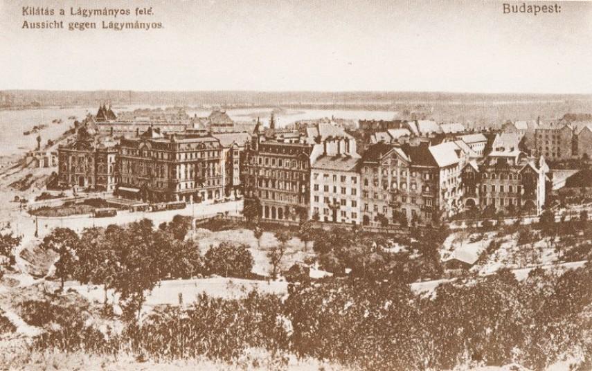 1909-1912, Gellért tér, 11. kerület