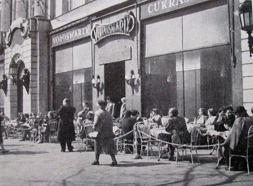 1958, Vörösmarty tér, 5. kerület