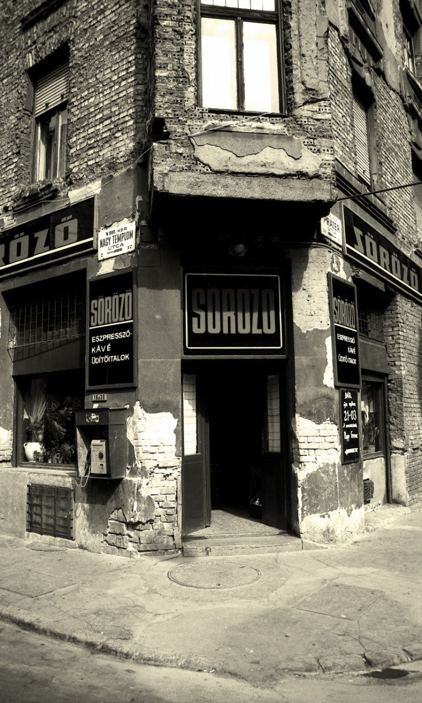1980-as évek, Práter utca, 8. kerület