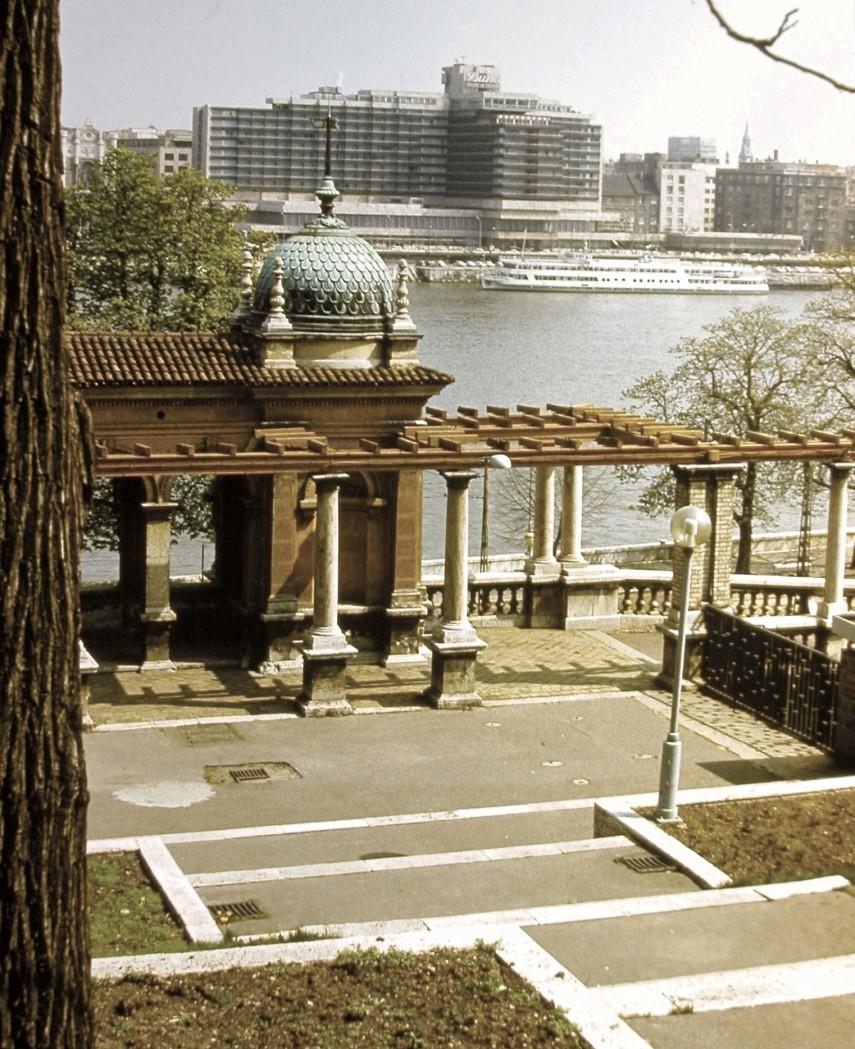 1979, Ybl Miklós tér, a Budai Ifjúsági Park, 1.kerület