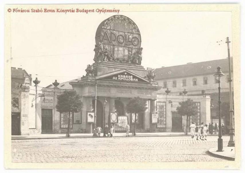 1919-1923, Népszínház utca (Blaha Lujza tér), Józsefváros, Palotanegyed, 8. kerület