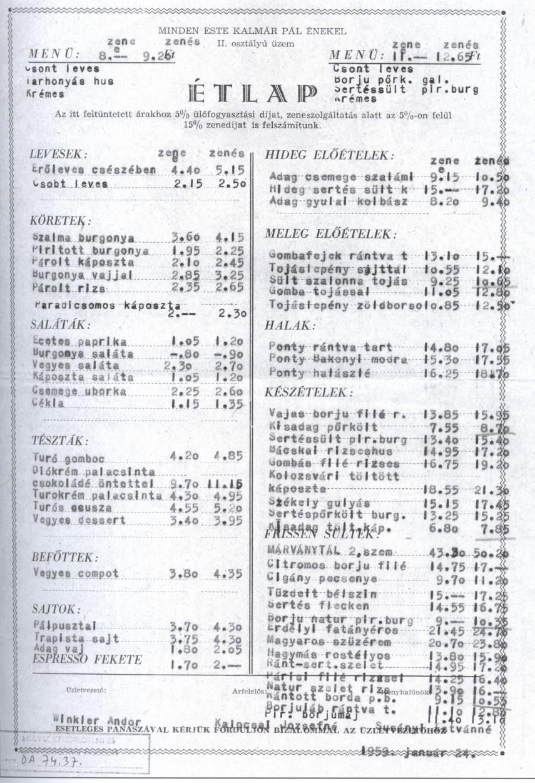 1959, Márvány utca, 1. kerület