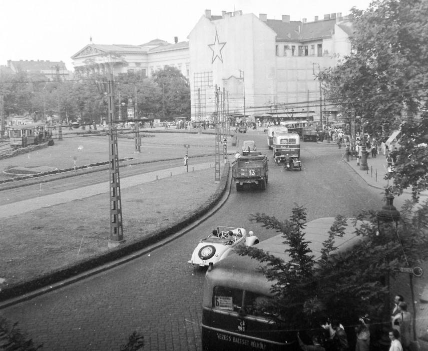 1954, Calvin (Kálvin) tér, 9. és 8. kerület
