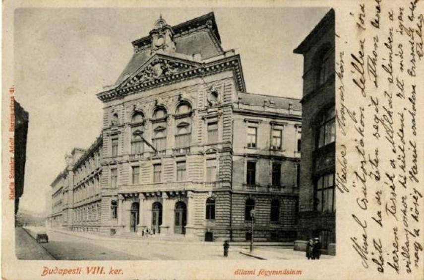1895-1920, Tavaszmező utca, 8. kerület
