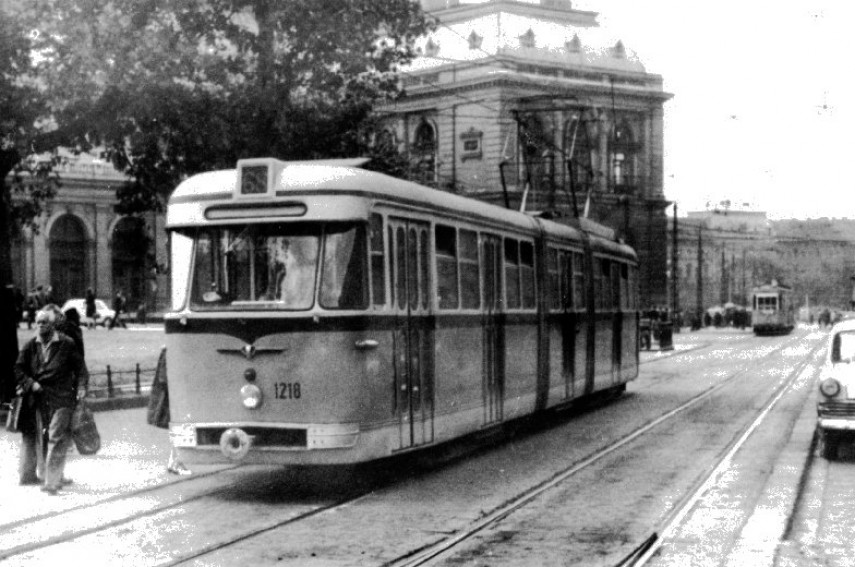 1960-as évek, Baross tér, 8. kerület
