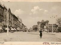 1934, Baross tér, Keleti pályaudvar, 7.és 8. kerület