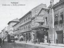 1910 táján, Király utca, 7. kerület