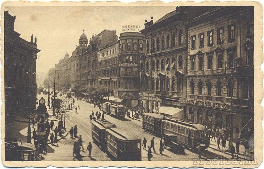 1920-as évek, Rákóczi út, 7. kerület