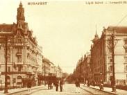 1900 táján Lipót (Szent István) körút, 5. és 13. kerület