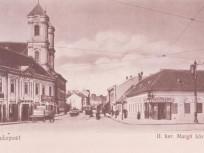 1900 táján, Margit körút, 2. kerület