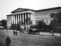 1894, Múzeum körút, Nemzeti múzeum, 8. kerület