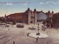 1900 táján, Berlini (Nyugati) tér és a Nyugoti pályaudvar, (1950 óta) 6. kerület