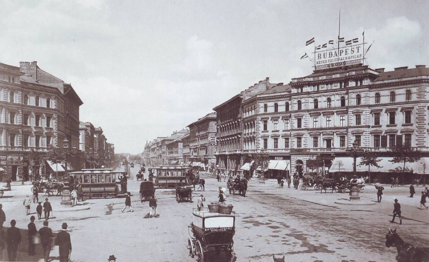 1890, Nyolcszög tér (Oktogon), 6. kerület