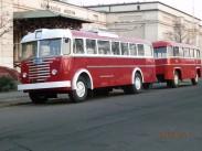 1961-től 1968-ig, Budapest, a pótkocsis trolibusz